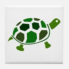 Color Turtle Tile Coaster