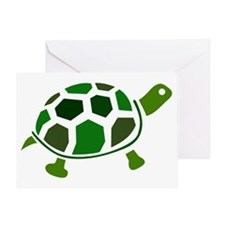Color Turtle Greeting Card