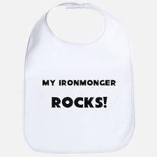 MY Ironmonger ROCKS! Bib
