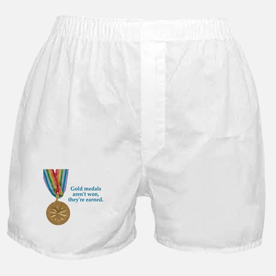 Not won, earned Boxer Shorts