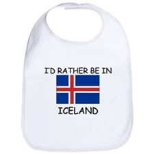 I'd rather be in Iceland Bib