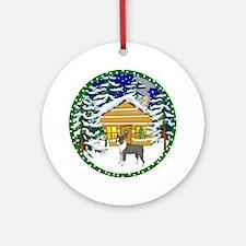Old Fashioned Boston Terrier Ornament (Round)
