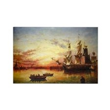 Emigrant Ship, Dublin Bay Magnets (10 pack)