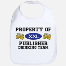Property of Publisher Drinking Team Bib