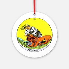 """Strength Tarot Card"" Ornament (Round)"