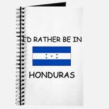 I'd rather be in Honduras Journal