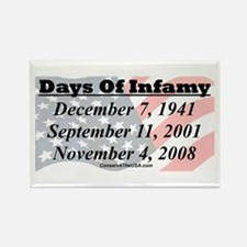 """Days Of Infamy"" Rectangle Magnet"