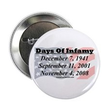 """Days Of Infamy"" 2.25"" Button"