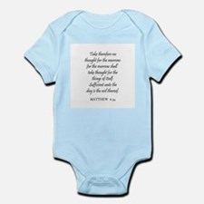 MATTHEW  6:34 Infant Creeper