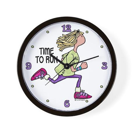 Time to run - Al Wall Clock