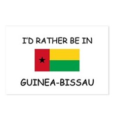I'd rather be in Guinea-Bissau Postcards (Package