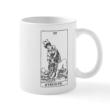 Strength Tarot Card Mug
