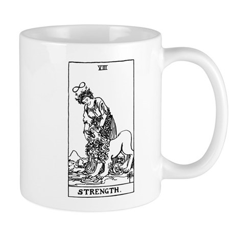 Strength Tarot Card Mug