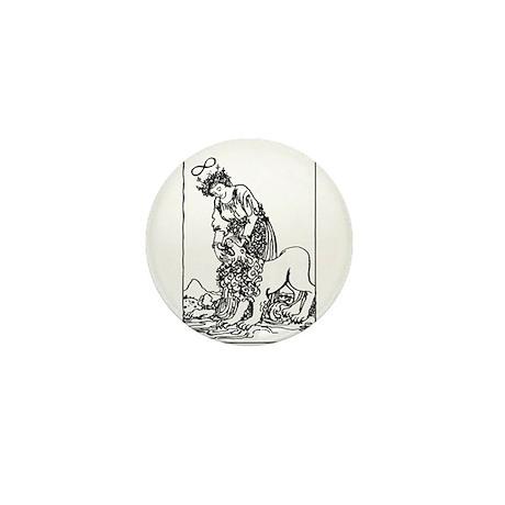 Strength Tarot Card Mini Button (10 pack)