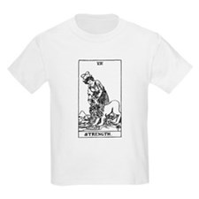 Strength Tarot Card T-Shirt