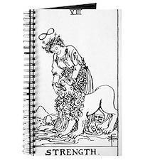 Strength Tarot Card Journal