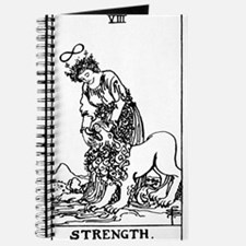 Strength Tarot Card Journal