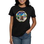 XmasMusic 3/Yorkie #11 Women's Dark T-Shirt