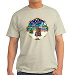 XmasMusic 3/Yorkie #11 Light T-Shirt