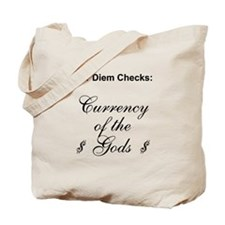 currency of the gods Tote Bag