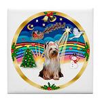 XmasMusic 3/Yorkie #2 Tile Coaster
