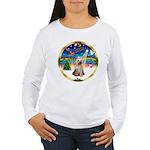 XmasMusic 3/Yorkie #2 Women's Long Sleeve T-Shirt