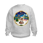 XmasMusic 3/Yorkie #2 Kids Sweatshirt