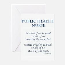 Public Health Nurse Greeting Cards