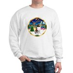 XmasMusic 3/ St Bernard #1 Sweatshirt