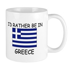 I'd rather be in Greece Mug