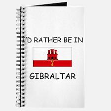 I'd rather be in Gibraltar Journal