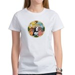 XmasMusic 3/Sib Husky Women's T-Shirt
