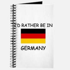 I'd rather be in Germany Journal
