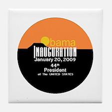 Inauguration Obama Tile Coaster
