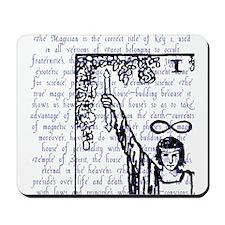Tarot Key 1 - The Magician Mousepad