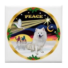 XmasDove/Am Eskimo Tile Coaster