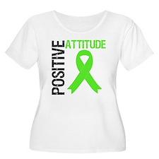 Lymphoma Positive Attitude T-Shirt