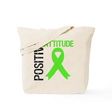 Lymphoma Positive Attitude Tote Bag