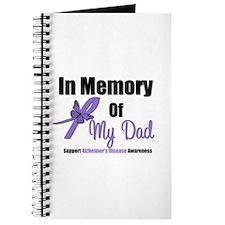 Alzheimer's Memory Dad Journal