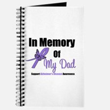 Alzheimer's Memory Dad Journal