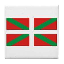 Cute Basque Tile Coaster