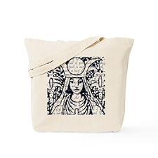 Tarot Key 2 - The High Priestess Tote Bag