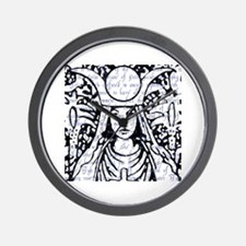 Tarot Key 2 - The High Priestess Wall Clock