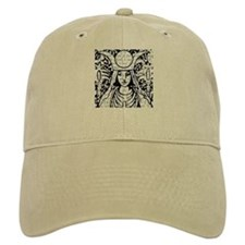Tarot Key 2 - The High Priestess Baseball Cap