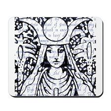 Tarot Key 2 - The High Priestess Mousepad