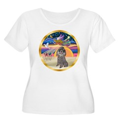 XmasStar/Silver Poodle #8 T-Shirt