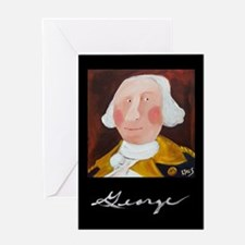 Funny President Art Greeting Card