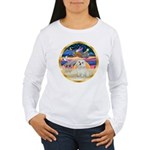 XmasStar/ Maltese # 11 Women's Long Sleeve T-Shirt