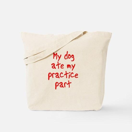 my dog ate my . . . Tote Bag