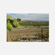 Temecula California Wine Country Rectangle Magnet